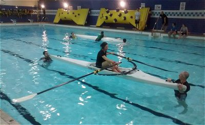Capsize drill at Outer West Pool 2 Nov 14